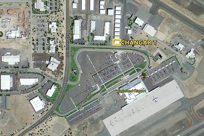 Redmond Airport Hangar